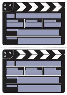 /einladung Filmklappe Druckvorlage
