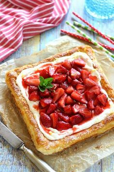 Juditka konyhája: ~ EGYSZERŰ EPRES - TÚRÓS ~ A Food, Food And Drink, Pepperoni, Ricotta, Waffles, Sweet Treats, Strawberry, Pizza, Fruit