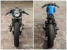 Royal Enfield Café Racer by Rajputana Customs - Pipeburn - Purveyors of Classic Motorcycles, Cafe Racers & Custom motorbikes