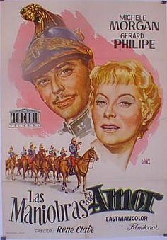 Las maniobras del amor (1955) Francia. Dir: René Clair. Drama. Comedia. Romance - DVD CINE 521