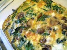Veggie Lovers Breakfast Caserole
