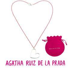 "Collar ""Venois"" Agatha Ruiz de la Prada. Presentado en bolsa de la marca"