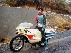 Hiroshi Fujioka, Kamen Rider 1   藤岡 弘、仮面ライダー1号