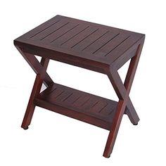 Teak Shower Bench with Shelf- FULLY ASSSEMBLED- Obliquity- Shower, Bath, Spa Decoteak http://www.amazon.com/dp/B00N3AZQ0I/ref=cm_sw_r_pi_dp_I.CRub0V7TJWM