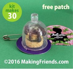 "Girl Scout Swaps Craft Kit ""Juliette's Birthday Cake"" with Free Patch!"