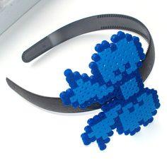 Perler Bow Headband