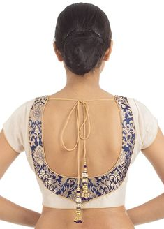 Designer Blouse You are in the right place about blouse designs videos Here we offer you the most be Saree Blouse Neck Designs, Simple Blouse Designs, Stylish Blouse Design, Brocade Blouse Designs, Saree Blouse Patterns, Sari Design, Designer Blouse Patterns, Boho, Sexy