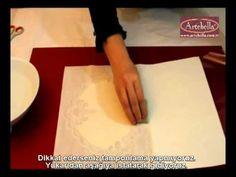 Artebella Dantel Transferler Ahşapta Dantel Transfer Uygulama - Eğitmen Gülçin Göksu - YouTube