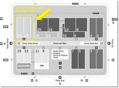 Cosmit pianta Salone del mobile 2014   Padiglioni 22 e 24   Anteprima Salone del Bagno 2014 #SaloneBagno #iSaloni #Salonedelmobile2014 #bathroom