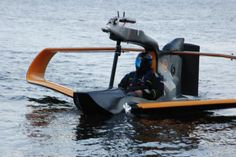 FlyNano electric sea plane takes first test flight
