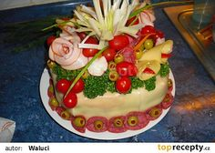 Moje slané dorty recept - TopRecepty.cz