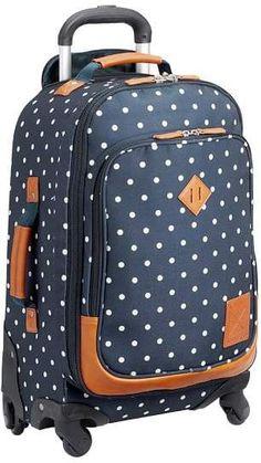 Northfield Navy Dot Carry-On Spinner  ad  backtoschool  backpacks  backpack  Best 3baf69c2f4a97