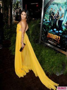 Vanessa hudgens yellow dress maria lucia hohan zambia.