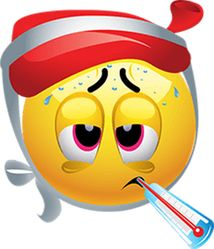 This high-quality Bad Flu emoticon will look stunning when you use it in your Fa. This high-quality Bad Flu emoticon will look stunning when you use Smiley Emoji, Sick Emoji, Smiley Emoticon, Emoticon Faces, Funny Emoji Faces, Funny Emoticons, Emoji Love, Smileys, Smiley Faces