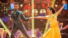 Aston Merrygold and Janette Manrara Foxtrot to 'It Had To Be You' by Harry Connick Jr.