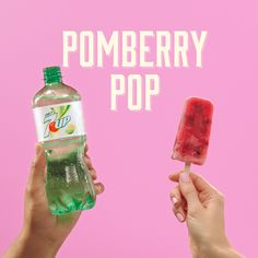The 7UP Pomberry Pop with vodka is your new chill. Because grown-ups need pops too. #DoMoreWith7UP Please enjoy responsibly 21+