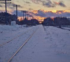 The Stewiacke Track. Stewiacke, Nova Scotia. ©Marg Robins www.stewiackenovascotia.com