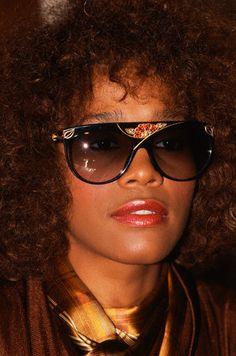 Whitney Houston in Fabulous Frames circa 1986.
