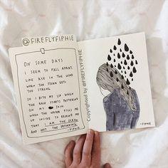 I am the ocean. #poetrybyfiphie #artbyfiphie Copyright Sophie Neuendorff, 2017