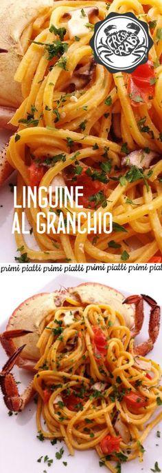 Linguine piccanti al granchio