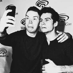 Will Poulter and Dylan O'Brien