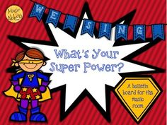 $2TuesdayMusicFlashSale: We Sing, What's Your Super Power?   $2 on 5/13.14!!!  $5.50 after that.