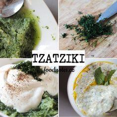 Recept na přípravu řecké omáčky tzatziki Tzatziki, Palak Paneer, Ethnic Recipes, Food, Essen, Meals, Yemek, Eten