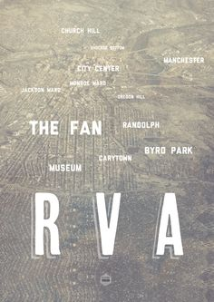 We've made it to RVA, Richmond Va! Who loves this poster? Manchester City Center, Oh The Places You'll Go, Places To Visit, Cute Love, My Love, Virginia Is For Lovers, Richmond Virginia, Virginia Usa, Good Ol