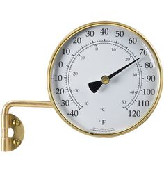 brass outdoor weather station with hygrometer Outdoor Life, Outdoor Rooms, Outdoor Living, Outdoor Plants, Outdoor Ideas, Backyard Ideas, Outdoor Decor, Home Hardware, Outdoor Christmas