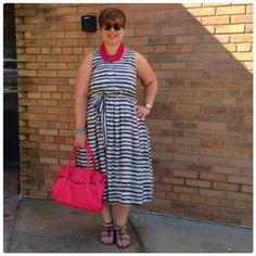 Sunday Style: One Striped Dress, Three Ways