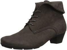 Gabor Shoes 35.630 Damen Kurzschaft Stiefel, Grau (anthrazit 19), 38 EU - http://on-line-kaufen.de/gabor/38-eu-gabor-shoes-35-63-damen-kurzschaft-stiefel-2