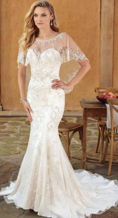 Courtesy of Casablanca Bridal wedding dresses