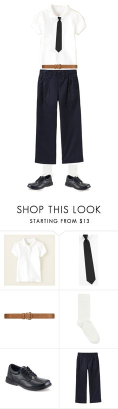 """""""Leo & Kevin Costume"""" by jennychu92601 ❤ liked on Polyvore featuring Zara, Falke, Sperry and Old Navy"""
