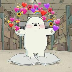 We bare bears Cute Emoji Wallpaper, Cartoon Wallpaper Iphone, Bear Wallpaper, Cute Disney Wallpaper, Cute Cartoon Wallpapers, Cute Wallpaper Backgrounds, Aesthetic Iphone Wallpaper, Cute Cat Memes, Cute Love Memes