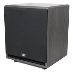 Theater Solutions SUB12F 500 Watt 12Inch Surround Sound HD Home Theater Powered Active Subwoofer Black * Want to know more, click on the image.Note:It is affiliate link to Amazon.