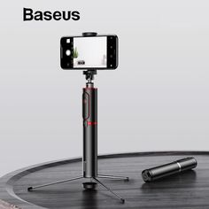 Baseus Bluetooth Selfie Stick Portable Handheld Smart Phone Camera Tripod with Wireless Remote For iPhone Samsung Huawei Android Latest Tech Gadgets, Smartphone, Bluetooth Remote, Camera Tripod, Samsung, Selfie Stick, Iphone, Phone Holder, E Design