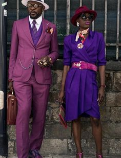 My Favorite Summer Street Style Inspiration From Pitti Uomo – Men Styles Dandy, Couple Style, Bonnie Clyde, Suit Up, Vogue, Stylish Couple, Advanced Style, Afro Punk, Fashion Couple