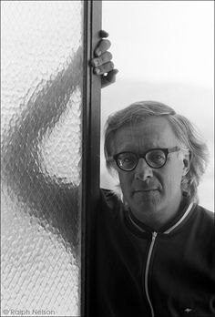 Ray Bradbury in a previously unpublished photo from 1966.  Photo: Ralph Nelson