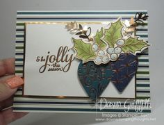 Head to the webpage to read more about Homemade Christmas Card Ideas Homemade Christmas Cards, Christmas Tree Cards, Stampin Up Christmas, Xmas Cards, Handmade Christmas, Holiday Cards, Christmas Diy, Cards Diy, Christmas Cards