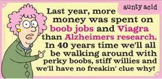 Aunty Acid Teaches Us About Aging Who better to give the funniest advice on aging than Aunty Acid?