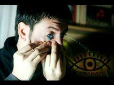 leandro granato pintura ocular eye's painting video oficial. WEIRD!