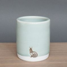 blue bunny cup