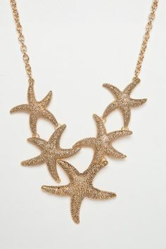 Dancing Starfish Necklace - ShopSosie.com