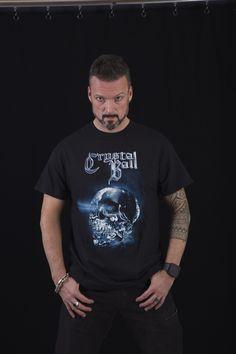 Crystallizer T-Shirt #skull #crystalball #crystalballrocks #merch #merchandise #bandmerch #tshirt #tshirts #bandshirt #black #metal #hardrock #heavymetal #model #crytallizer #tattoo Band Merch, Band Shirts, Black Metal, Heavy Metal, Merchandise Shop, Crystal Ball, Hard Rock, Skull, Girly