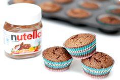 Una receta de Magdalenas de Nutella sin gluten y con Thermomix ® que se hacen en 2 minutos. Hornea 20 minutos a 180ªC y disfruta de tu creación.