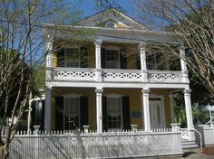 The Clara Barkley Dorr House is located on Seville Square at 311 S. Adams. It's part of Historic Pensacola Village, and is on the National Register of Historic Places.