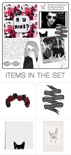 """""""Bae, Alex Turner"""" by skybucks ❤ liked on Polyvore featuring art"""