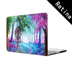 "Dream Catcher Design Full-Body Protective Plastic Case for 13""/15"" MacBook-Pro with Retina Display – USD $ 25.99"