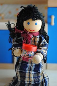 zakka life: Upcycle Craft: Doll House Accessories