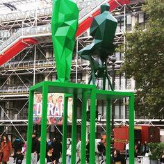 Today Paris  #pompidou #fiac2017 #artworks #instaart ##modern #travel#exibition #expo #museum
